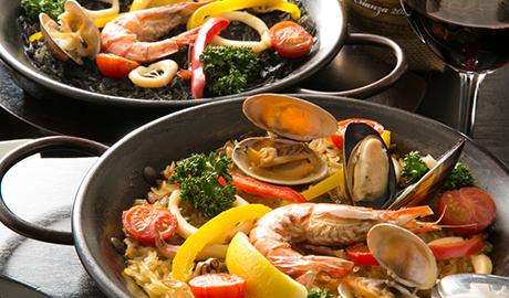 本格派スペイン料理
